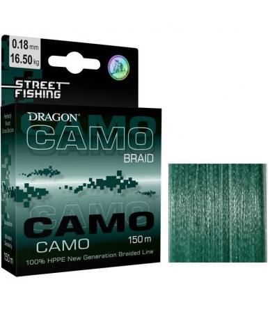 Valas DRAGON STREET FISHING CAMO 150m