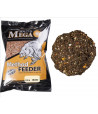Peletės Dragon Mega Baits Method Feeder 3,00kg