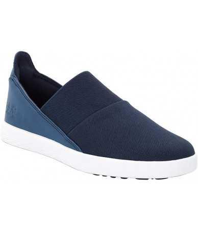 Moteriški batai Jack Wolfskin Auckland Slipper Low Mėlyni