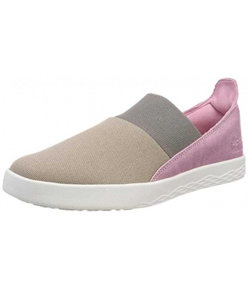 Moteriški batai Jack Wolfskin Auckland Slipper Low Rožiniai