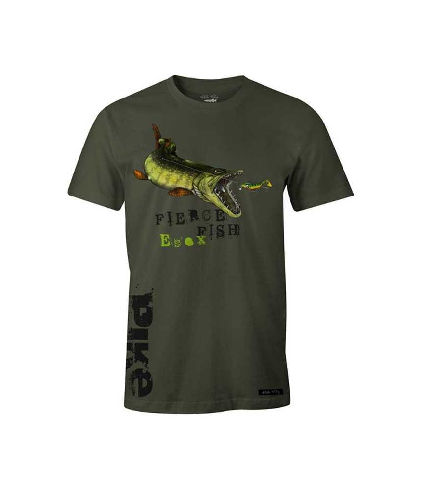 Marškinėliai Fladen - Hungry Pike