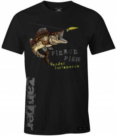 Marškinėliai Fladen - Hungry Zander