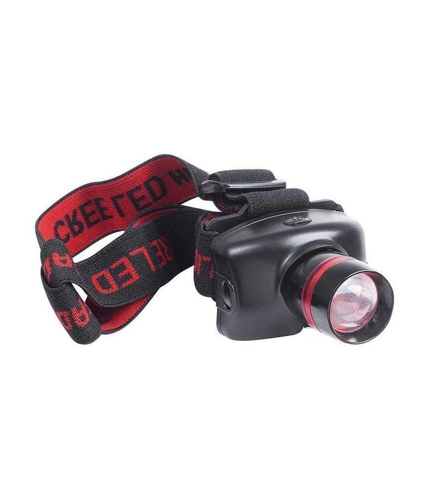 Žibintuvėlis ant galvos Fladen 3w Cree LED. 3 funkcijos