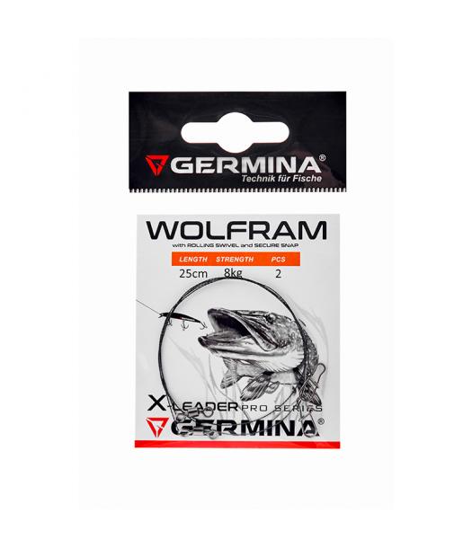 Pavadėliai Germina Wolfram X-Leader 25/30 cm