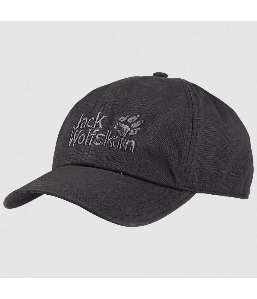 Kepurė JACK WOLFSKIN BASEBALL CAP t.pilka