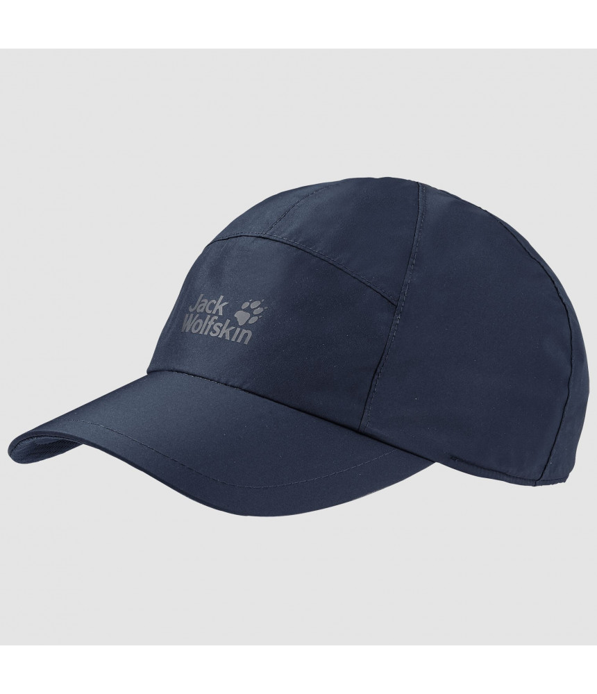 Kepurė su snapeliu JACK WOLFSKIN ECOSPHERE BASE CAP t. mėlyna