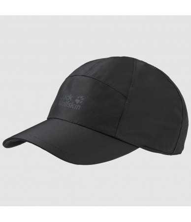Kepurė su snapeliu JACK WOLFSKIN ECOSPHERE BASE CAP juoda