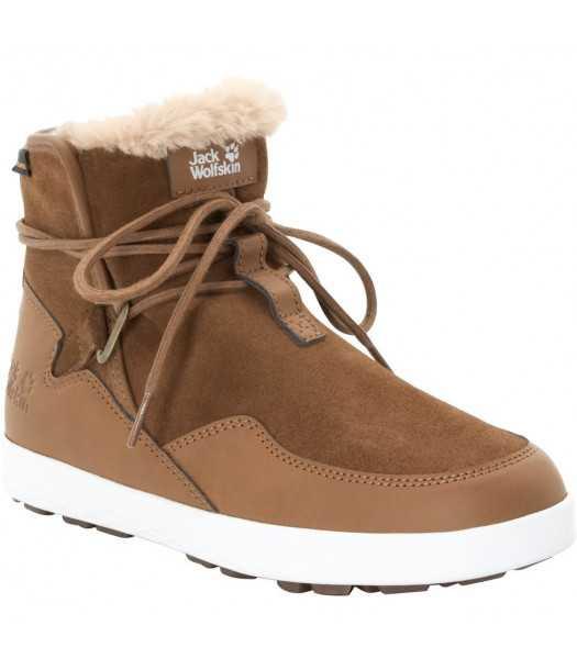 Moteriški žieminiai batai JACK WOLFSKIN AUCKLAND WT TEXAPORE rudi
