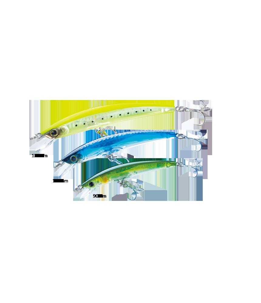Vobleris Yo-Zuri CRYSTAL 3D MINNOW™ SINKING 110mm/16g