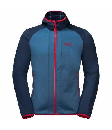 Vyriškas džemperis JACK WOLFSKIN Hydro Hooded | mėlynas
