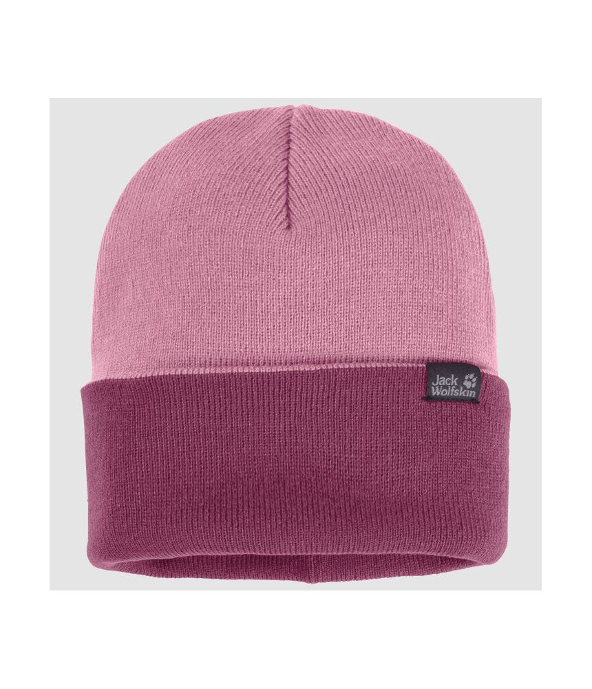 Megzta kepurė  JACK WOLFSKIN RIB | rožinė