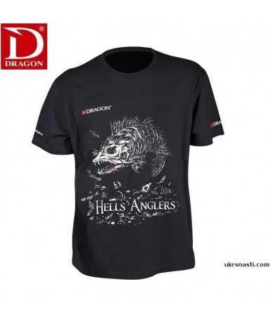 Marškinėliai Dragon Hells Anglers starkis