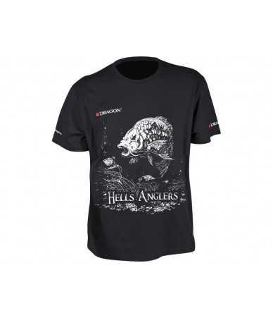 Marškinėliai Dragon Hells Anglers karpis