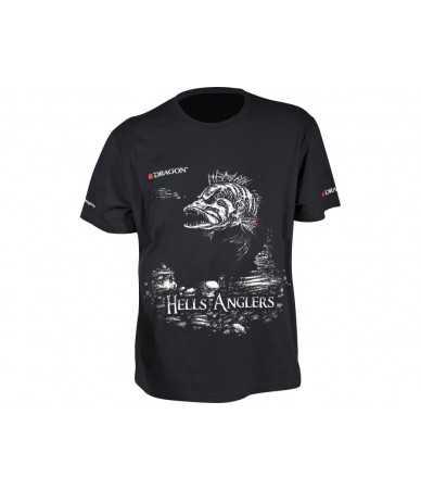 Marškinėliai Dragon Hells Anglers ešerys