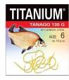 Kabliukai Robinson Titanium Tanago 130 G