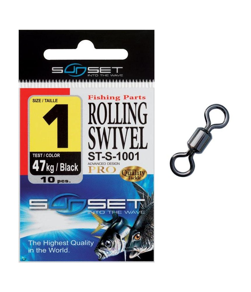Suktukas Sunset Rolling Swivel - ST-S-1001