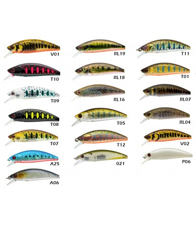 Vobleris Sakura Phoxy Minnow HW S 50 (50 mm – 4,5 g)