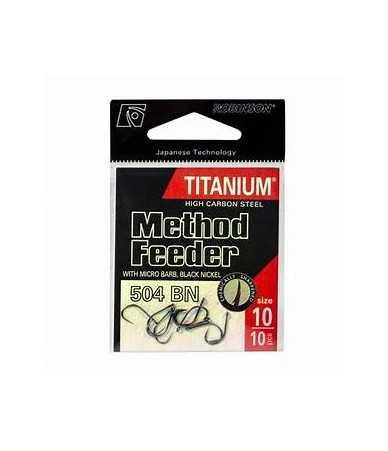 Kabliukai Robinson Titanium Method Feeder 506LB