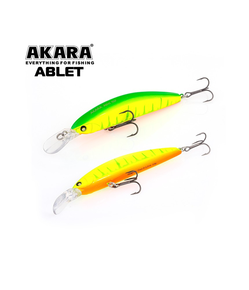 Vobleriai Akara ABLET 90F A178