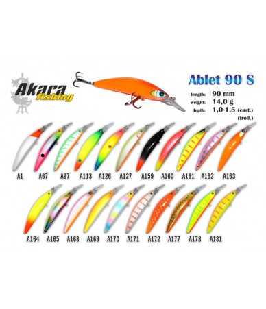 Vobleriai Akara ABLET 90S (90MM 14G)