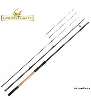 Meškerė Golden Catch Bionic Feeder Black Edition 4,2m 200g