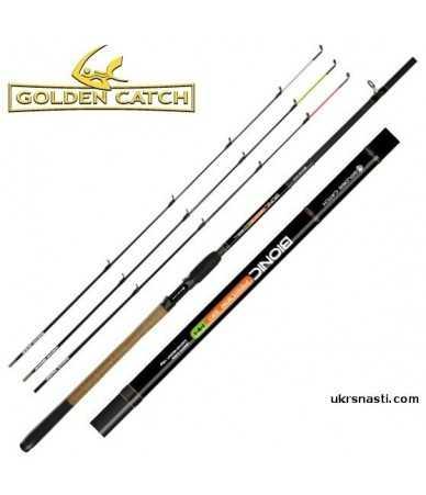 Meškerė Golden Catch Bionic Feeder 3,9m 150g