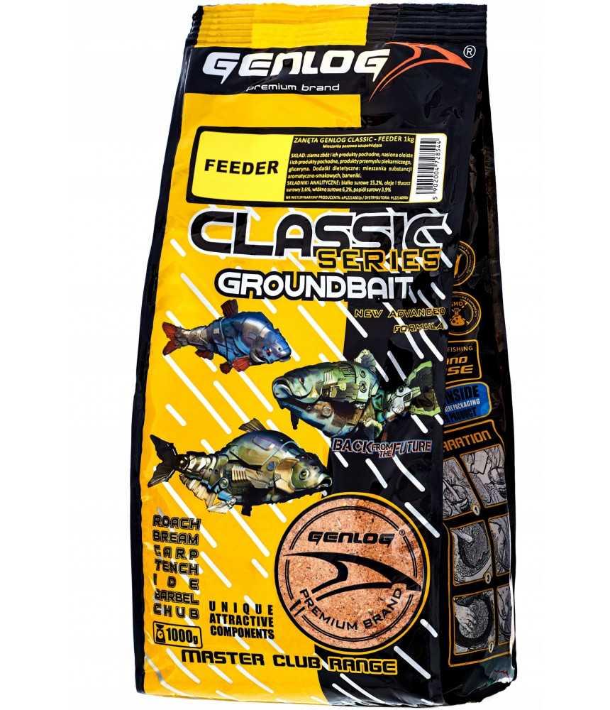 Jaukas GENLOG CLASSIC feeder 1kg.