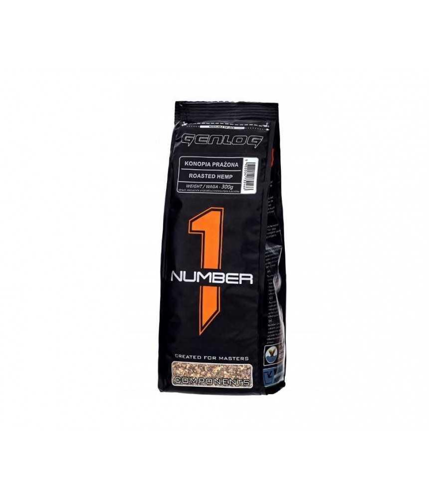 Jaukų priedas-aromatas Genlog Number1 - maltos skrudintos kanapės 0,3 kg