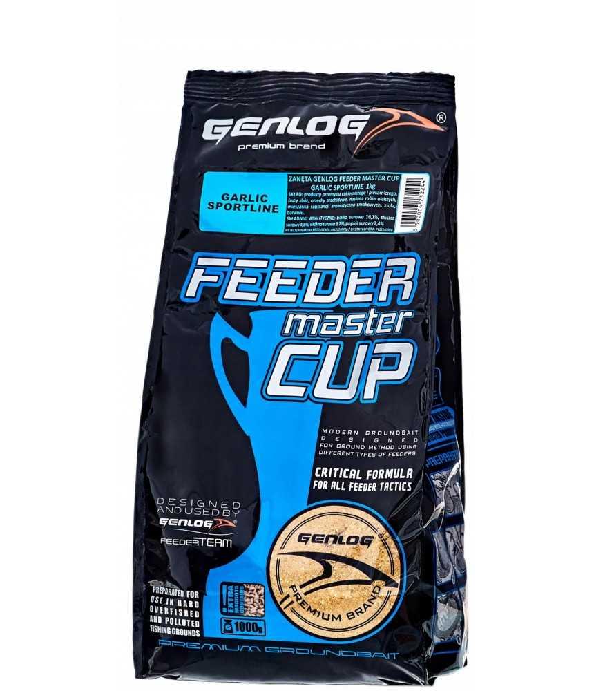 Jaukas Genlog Feeder Master Cup Garlic SportLine 1kg