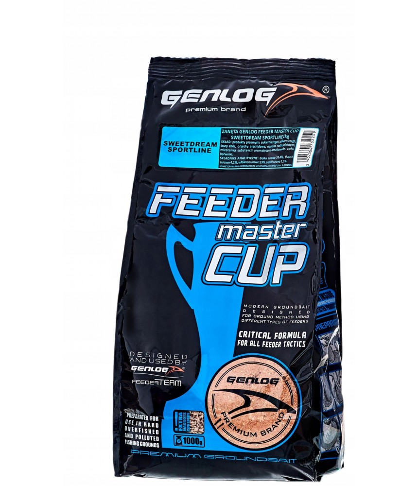 Jaukas Genlog Feeder Master Cup Sweet Dream SportLine 1kg