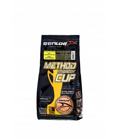 Jaukas Genlog Method Master Cup Micro Pellet SportLine Krilis-raudonasis otas - 1kg