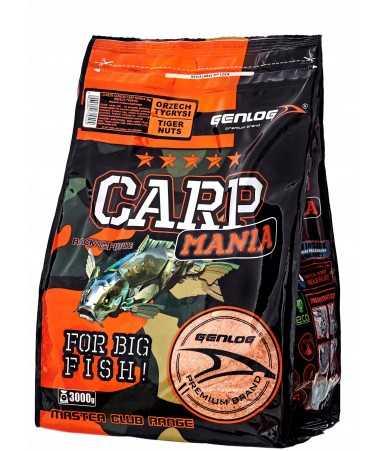 Jaukas karpiams Genlog CARP MANIA - tigrinis riešutas 3kg