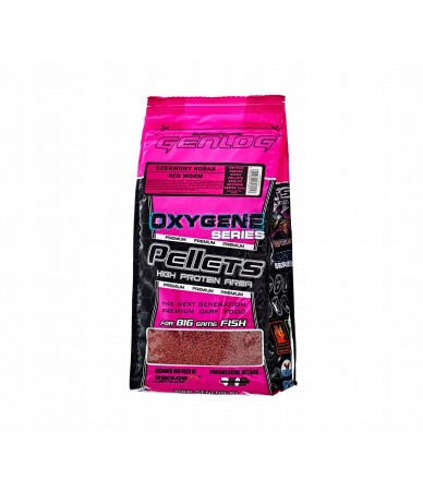 Peletės Genlog Pellet METHOD FEEDER raudoni sliekai 2mm 0.8kg