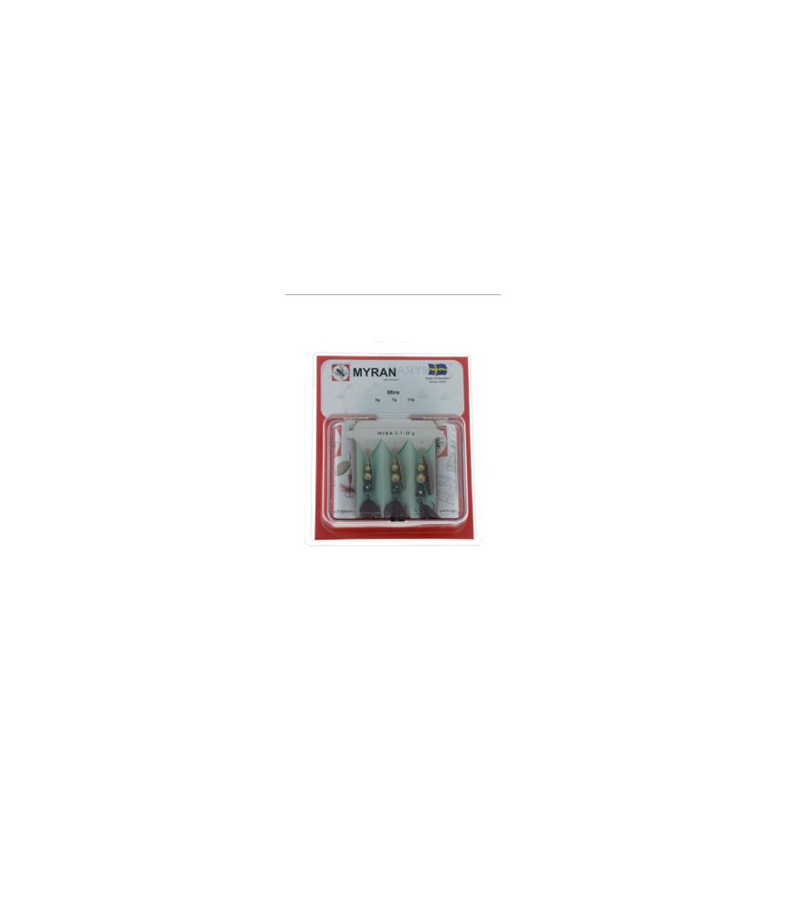 Sukrių rinkinys Myran Mira Sort 5-7-10 g