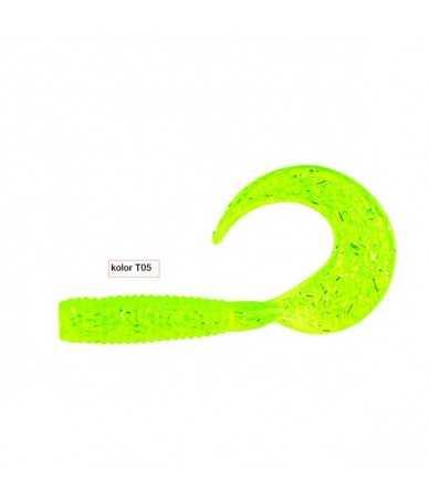 Guminukai žvejybai Robinson Classic Twist 3cm 5vnt.