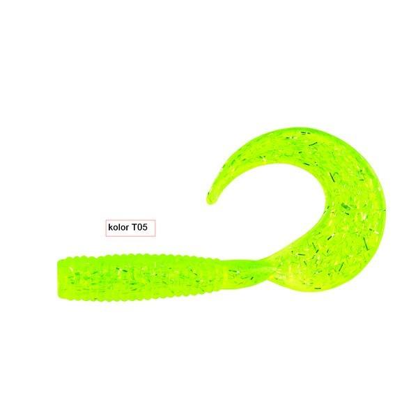 Guminukai žvejybai Robinson Classic Twist 5cm 20vnt.