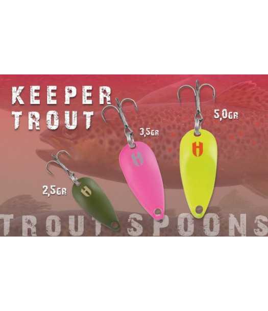 Blizgė Herakles Keeper Trout 5,0 gr