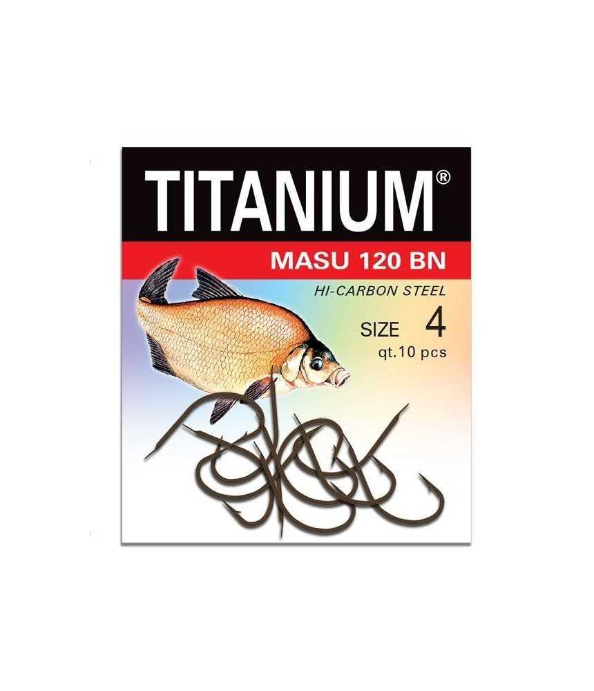 Kabliukai karšiams Robinson Titanium MASU 120BN