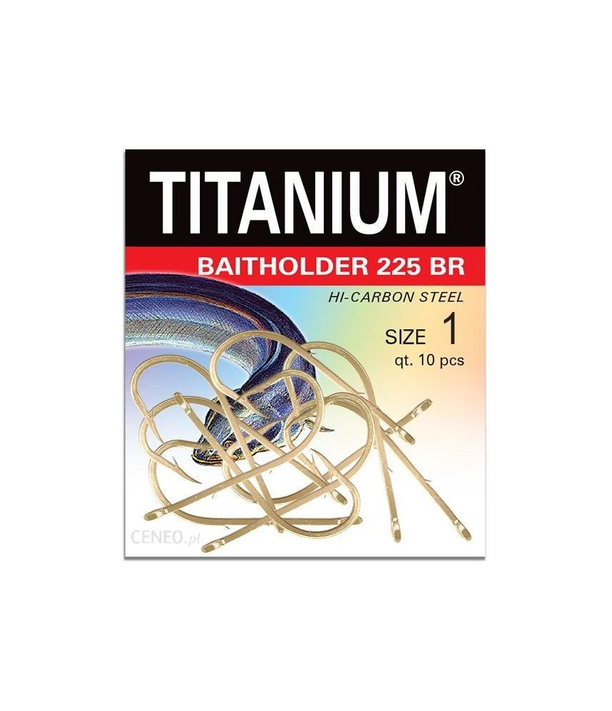 Kabliukai unguriams Robinson Titanium Baitholder 225 BR