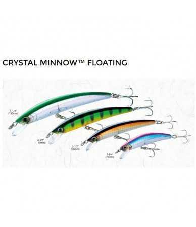 Vobleris Yo-Zuri Crystal Minnow FLOATING 110mm/12g