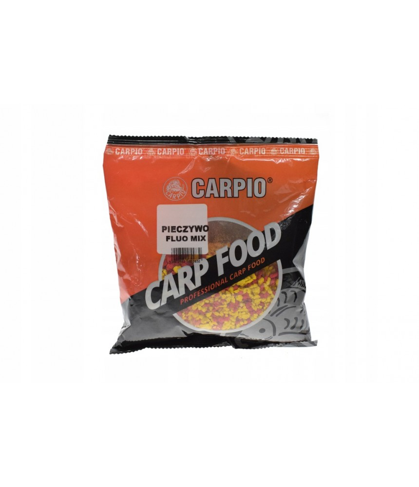 Džiūvėsiai karpiams CARPIO fluo mix 200g