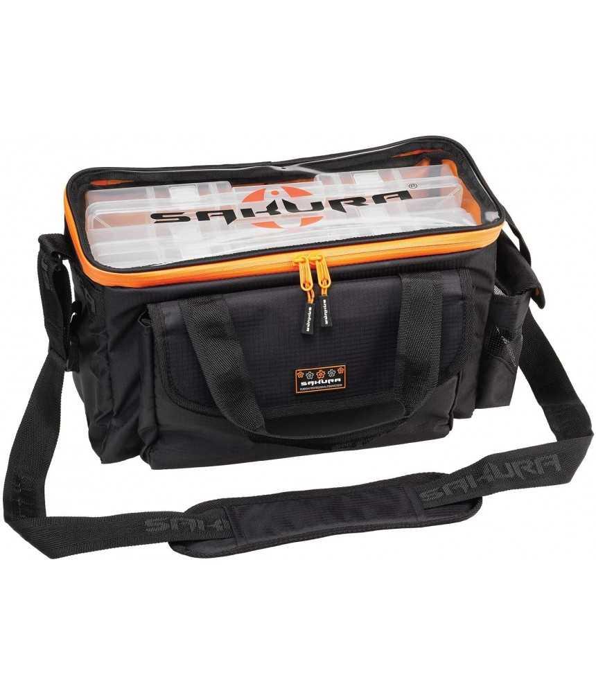 Žvejo krepšys Sakura Carrybox3 - SAPLF3023-BLAC/ORA
