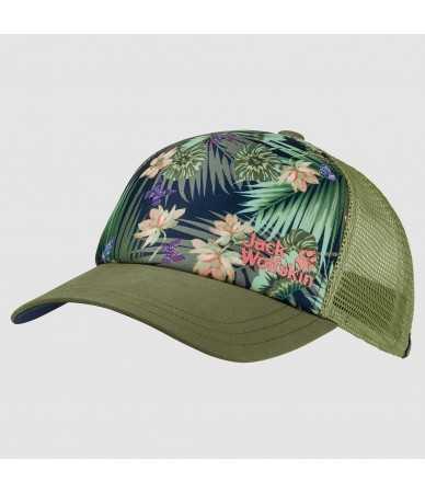 Kepurės su snapeliu moterims Jack Wolfskin PARADISE žalia