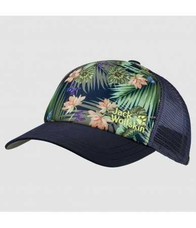 Kepurės su snapeliu moterims Jack Wolfskin PARADISE mėlyna