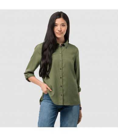 Marškinėliai moterims Jack Wolfskin MOJAVE SHIRT W