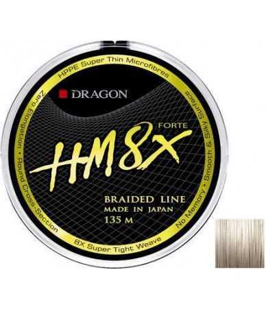 Pintas valas Dragon HM8x Forte 135m pilkas