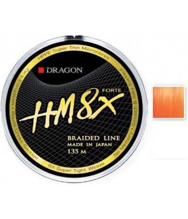 Pintas valas Dragon HM8x Forte 135m Orange Fluo