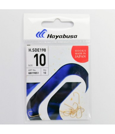 Kabliukai Hayabusa H.SDE 198 Gold Nr.9