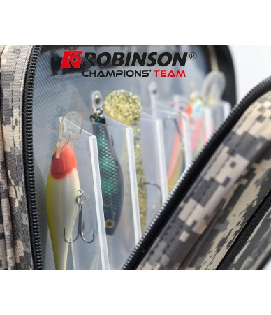 Krepšys žvejui Robinson Camo 30x14x18cm (73-CM-S01)