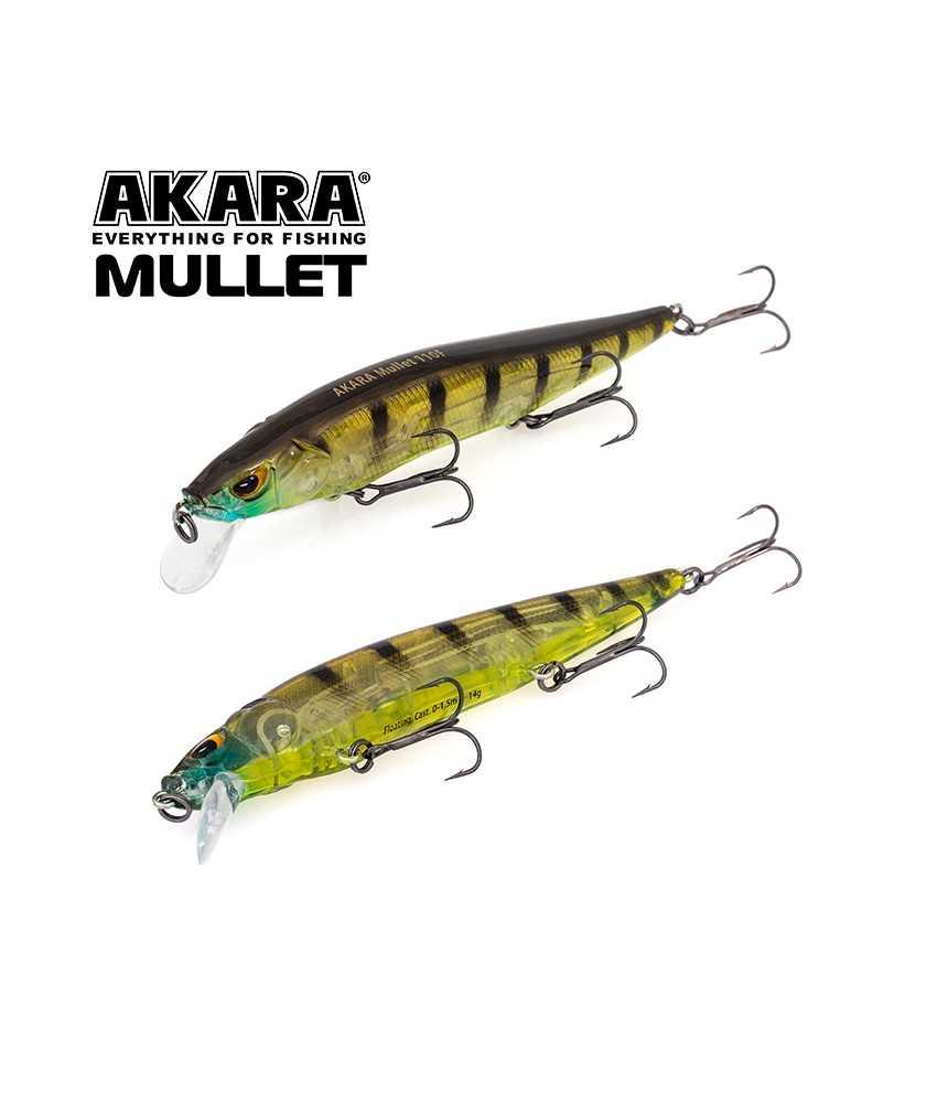 Vobleriai Akara Mullet 110F 14g A133